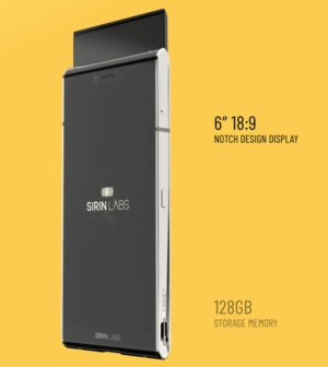 Finnish smartphone by Sirin Labs