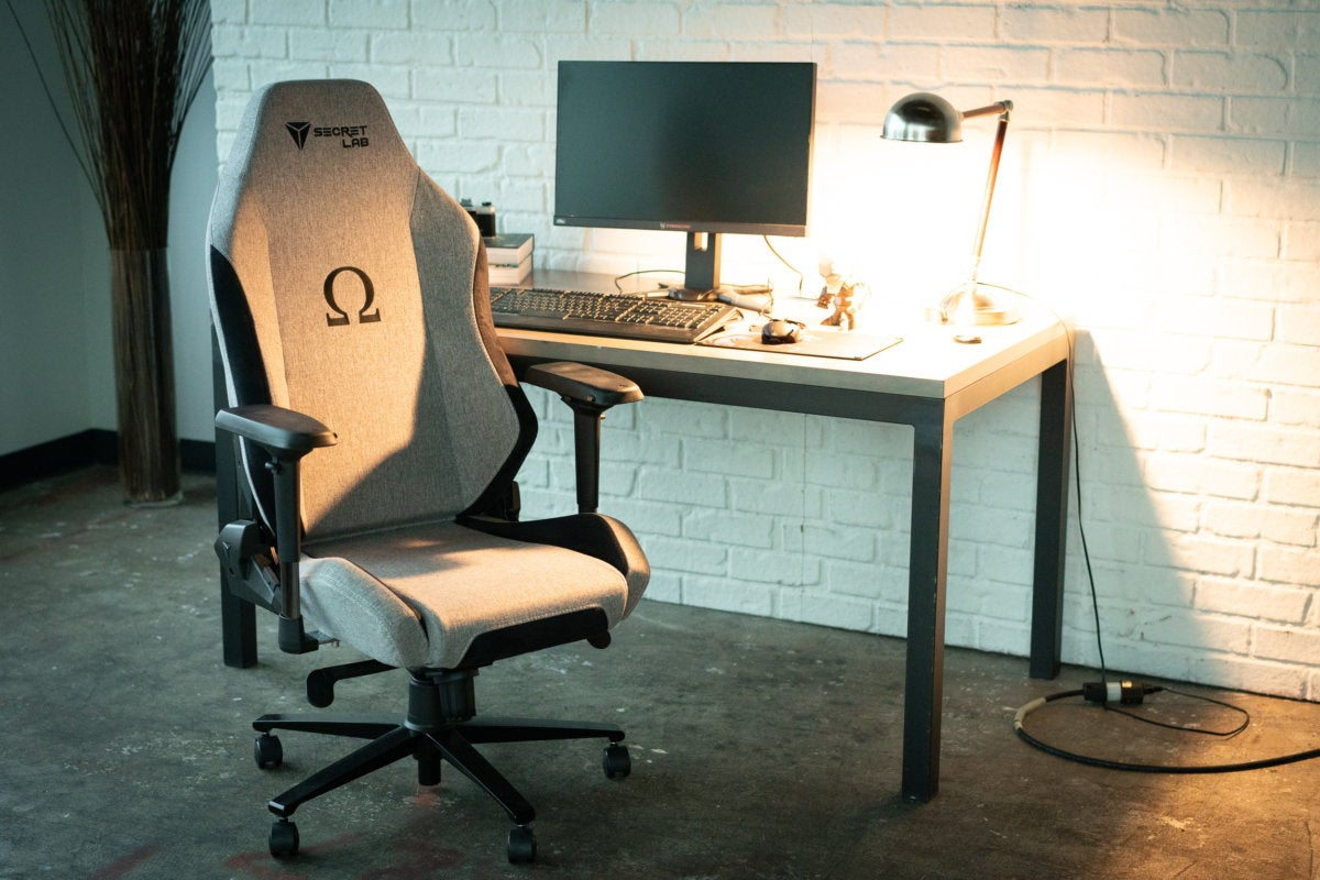 secretlab softweave omega no cushions