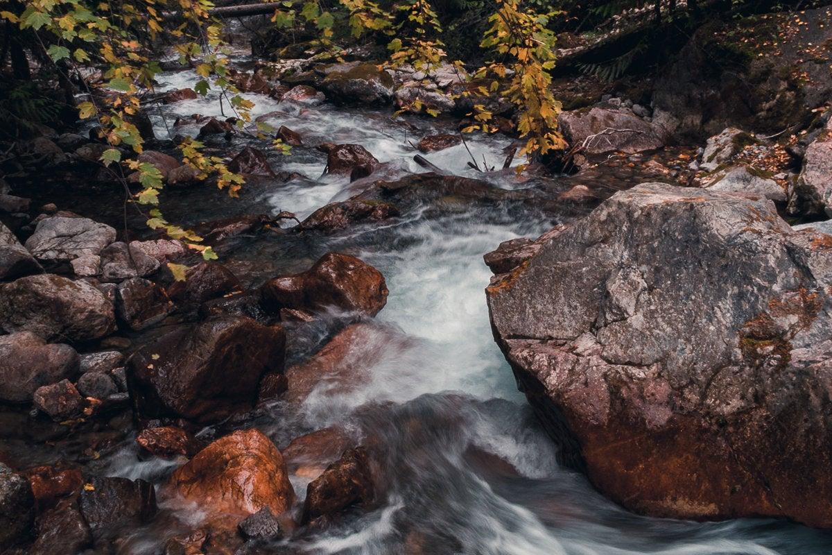 stream river rushing water nature rapids data stream