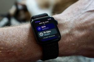 watch sleep tracking