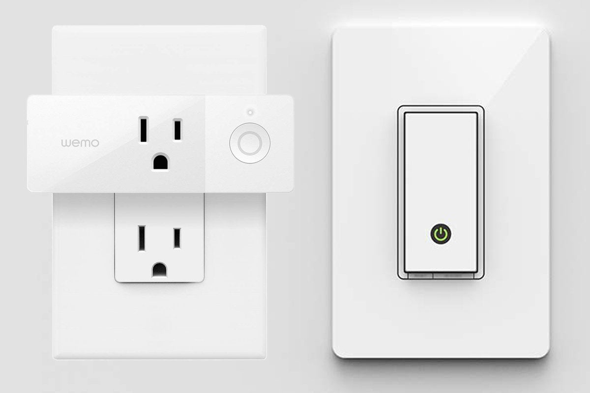 wemo smart plug light switch