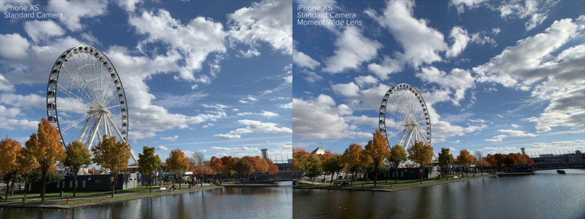 Wide angle lens comparison