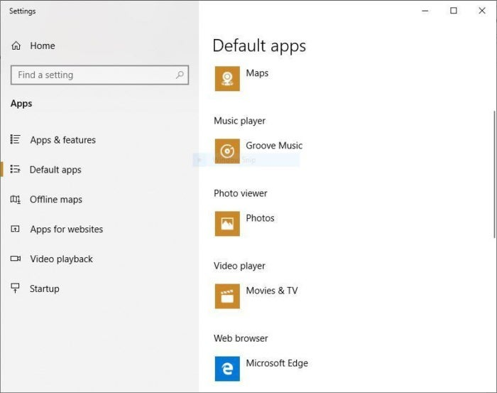 win10 disable edge browser default apps 1809