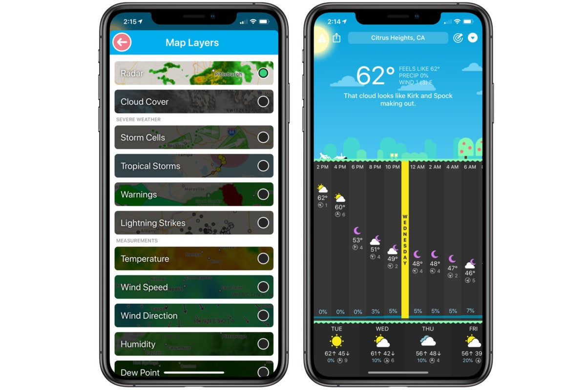 10 iphone apps carrot