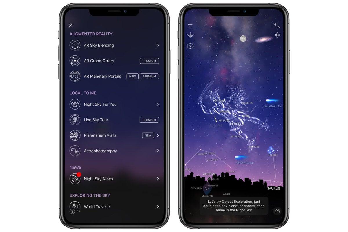 10 iphone apps nightsky