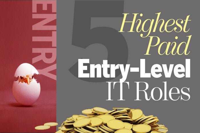 5 highest-paid entry-level IT roles
