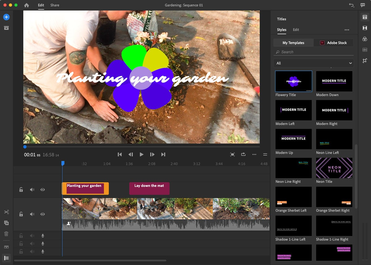 adobe video editor for pc download