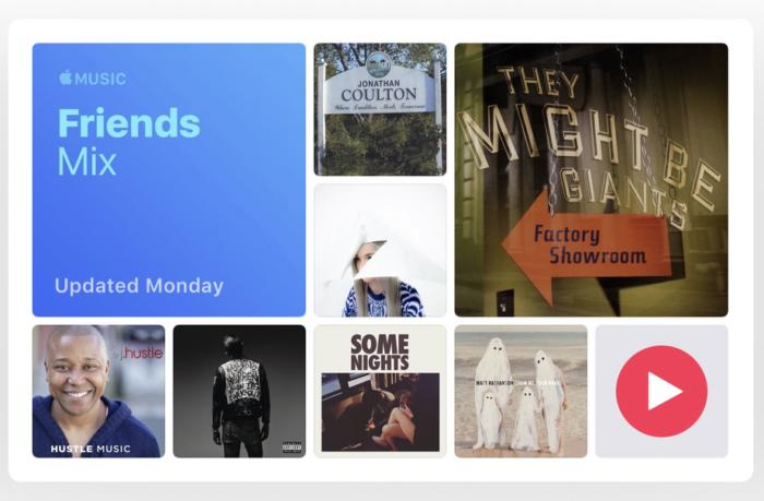 apple music friends mix