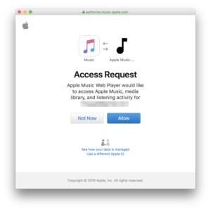 Stream your Apple Music library right in your browser with this