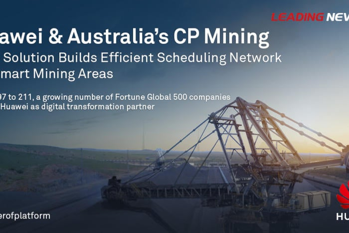 BrandPost: Australia's CP Mining and Huawei Build Smart Mining Areas