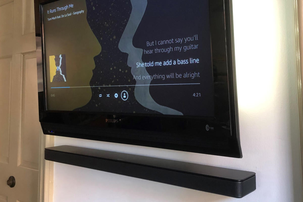 Bose Soundbar 500 Review Alexa Make Me A Sleek Smart