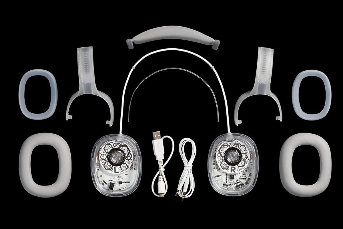 bosebuild headphones assembly