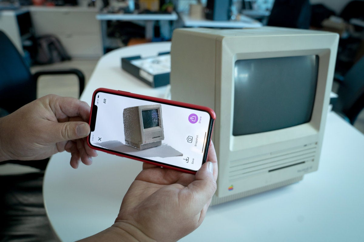 Capture, an iPhone 3D scanner app, hints at the future of