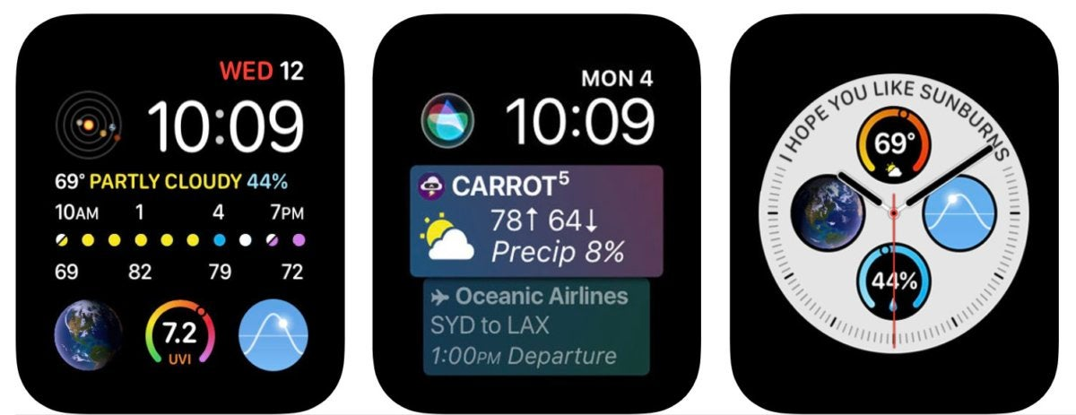 carrot weather apple watch
