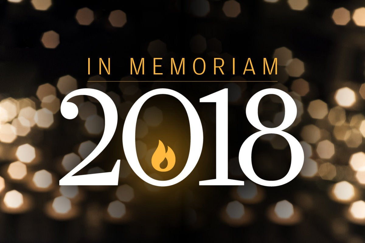 CW > In Memoriam 2018 > Tech luminaries we lost this year [slideshow cover]