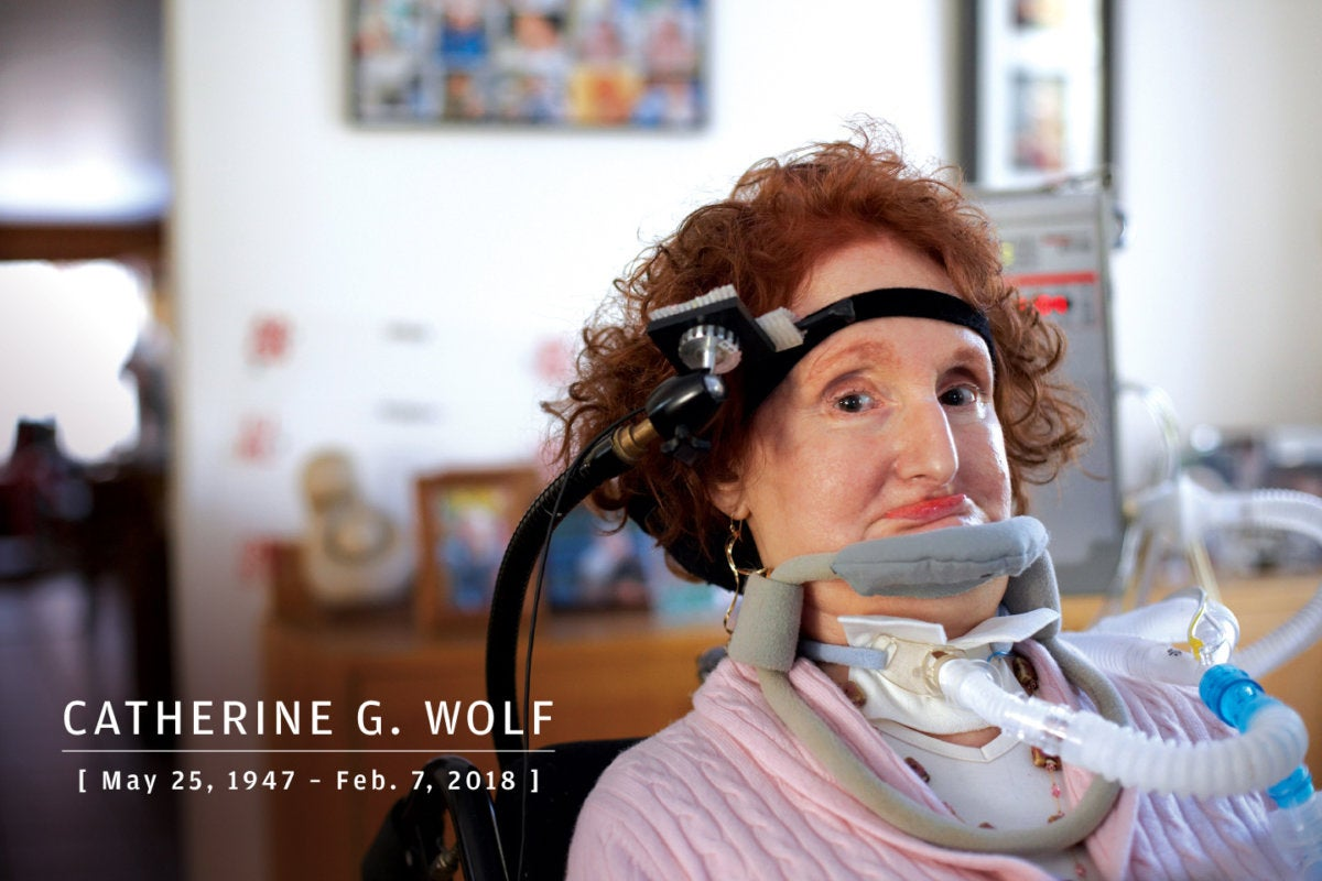 CW > In Memoriam 2018 > Catherine G. Wolf, pioneer in human-computer interaction, 1947-2018