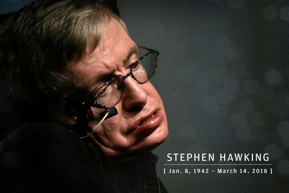 CW > In Memoriam 2018 > Stephen Hawking, galactic genius, 1942-2018
