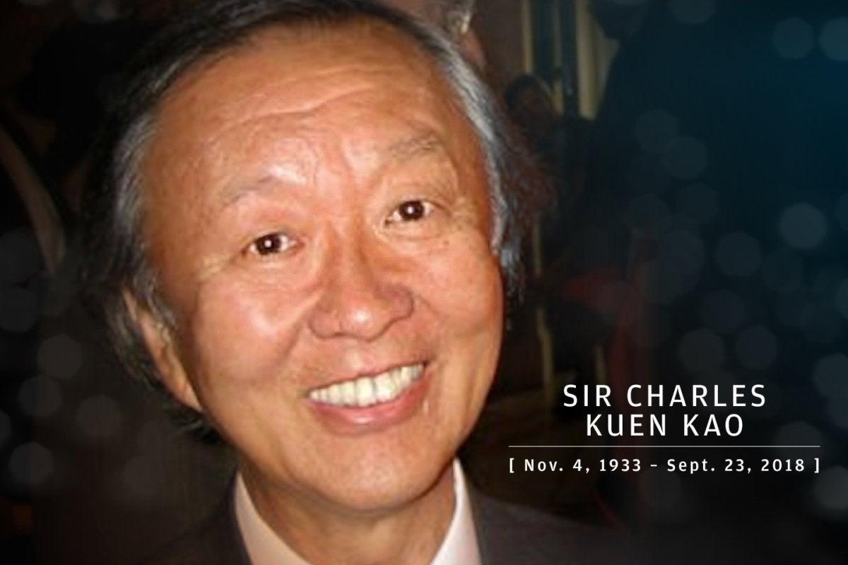 CW > In Memoriam 2018 > Sir Charles Kuen Kao, father of fiber optics, 1933-2018