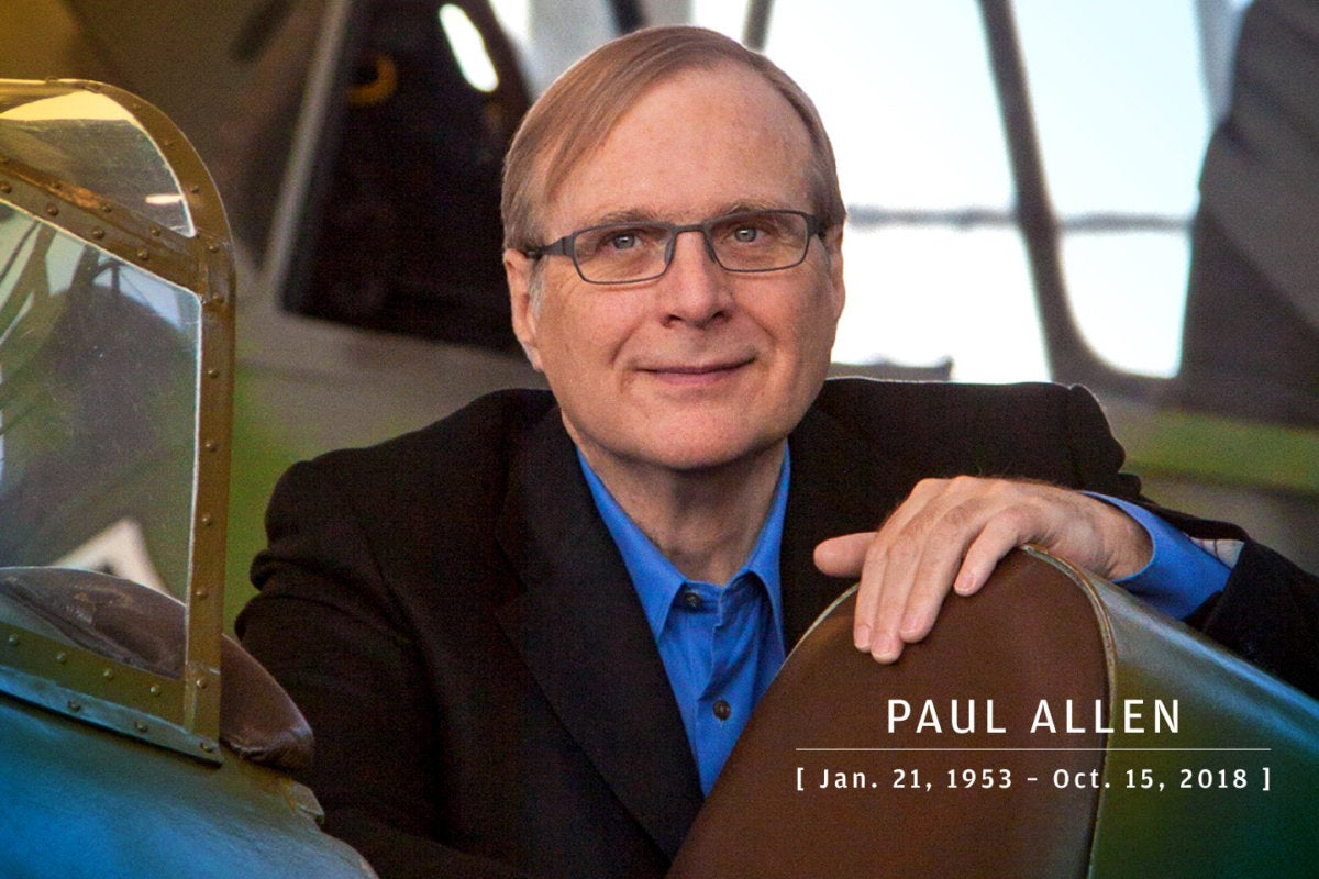 CW > In Memoriam 2018 > Paul G. Allen, Microsoft co-founder, 1953-2018
