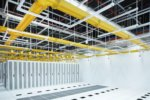 Data hall at one of STT GDC's data centre facilities