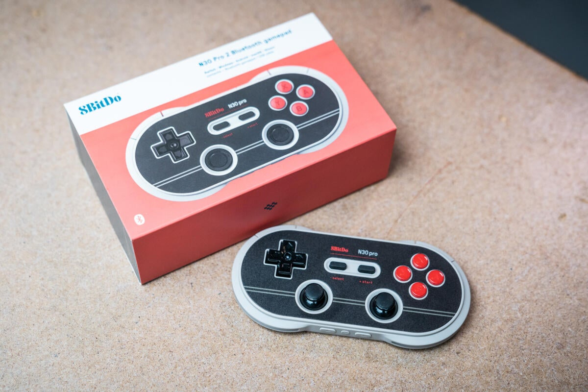 8BitDo N30 Pro 2 review: Compact size and cool effects