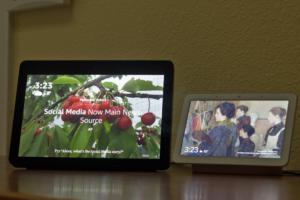 Echo Show vs Google Home Hub