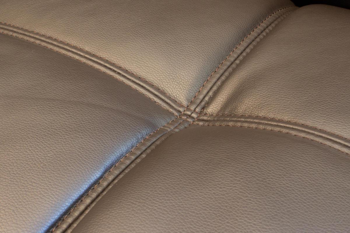 Gjemeni usb couch stitching detail