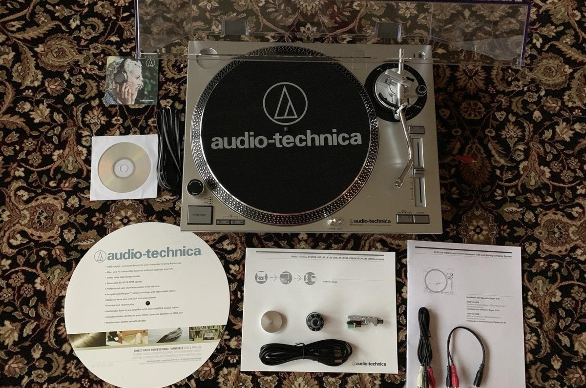 Audio-Technica AT-LP120-USB turntable review: Listen to your