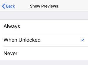 ios12 app notifications previews