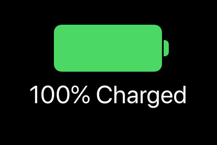 ios12 battery indicator