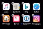 ios12 move app icons