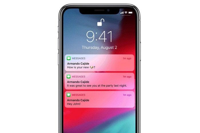 So ändern Sie Benachrichtigungen auf Ihrem iPhone