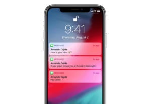 iphone ios12 notifications