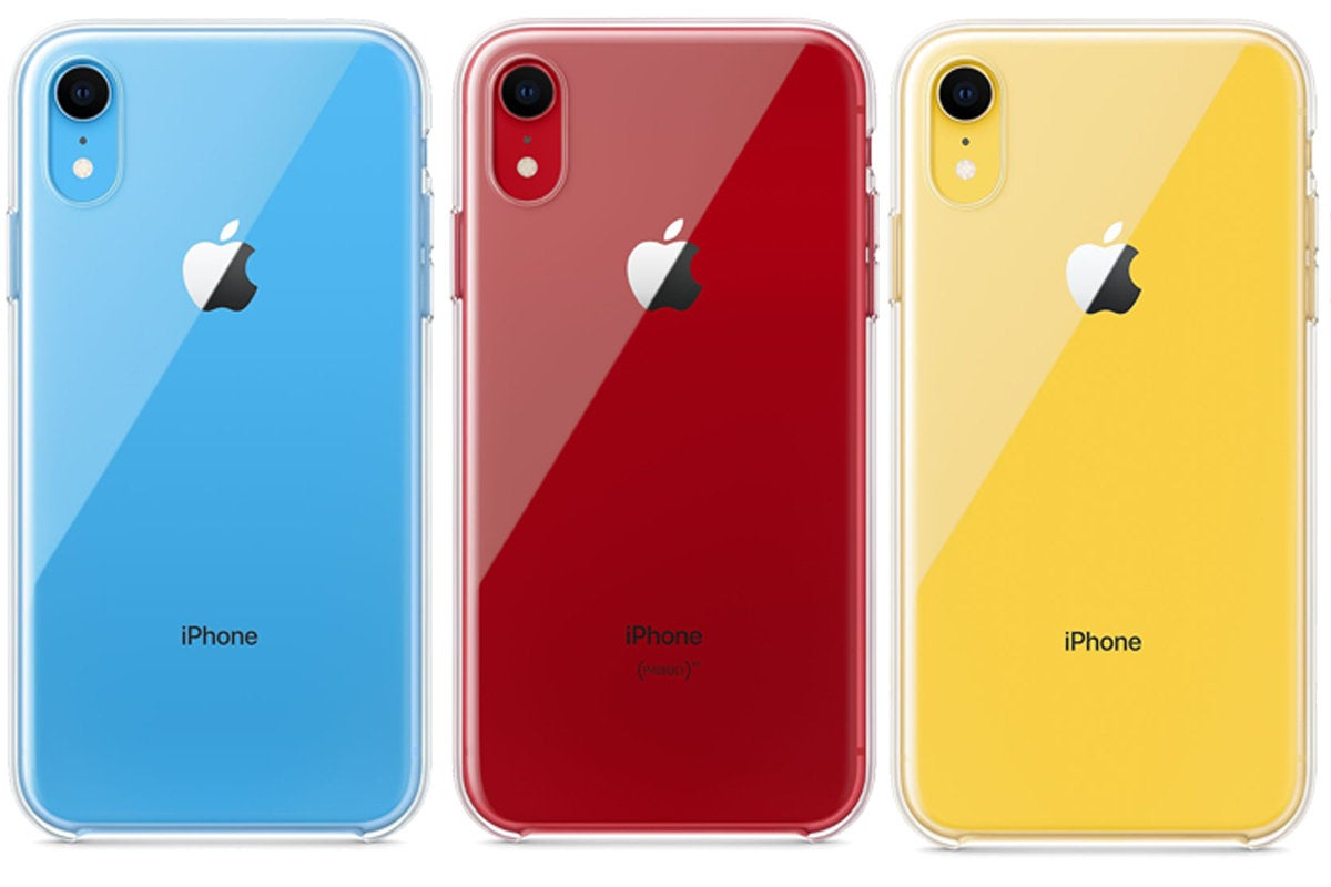 iphone xr apple clear cases