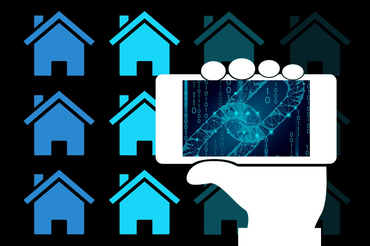 mobile real estate blockchain app