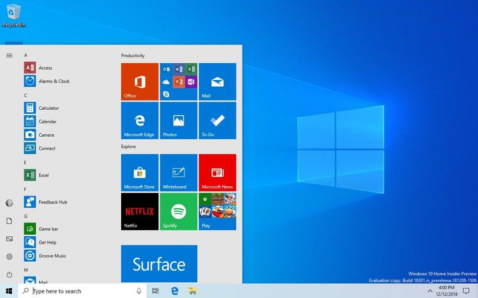 Microsoft's latest Windows 10 build kills passwords, simplifies
