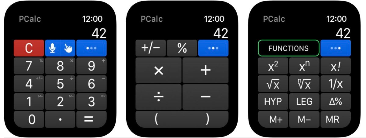 pc calc apple watch