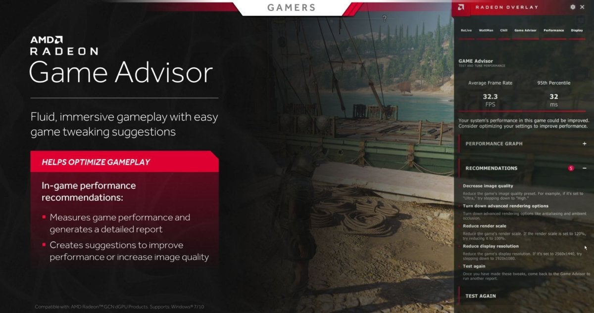 AMD's Radeon Software Adrenalin 2019 update is packed with