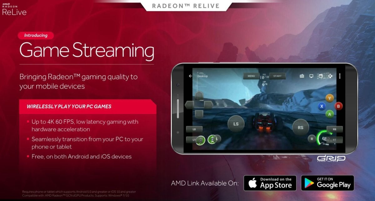 relive mobile streaming