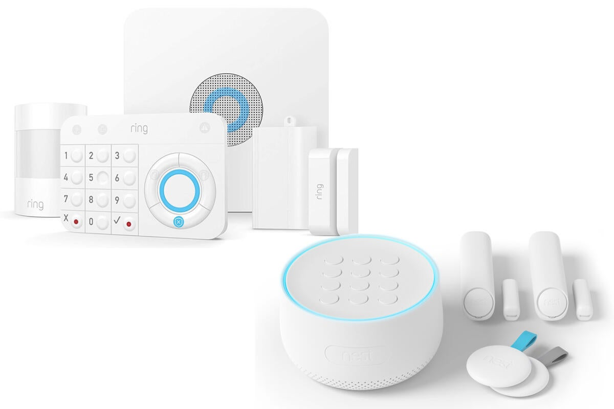 Ring Vs Nest Choosing A Diy Home Security System Is Ger
