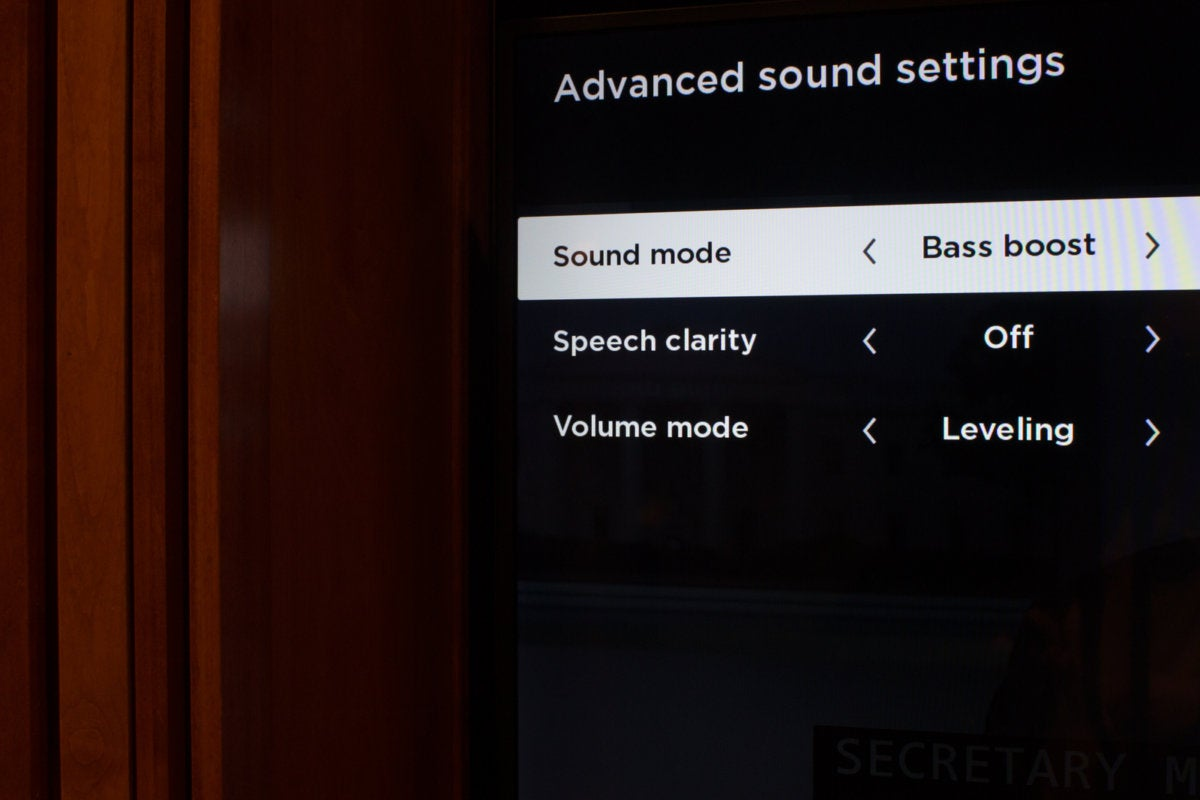 roku wireless speaker sound settings