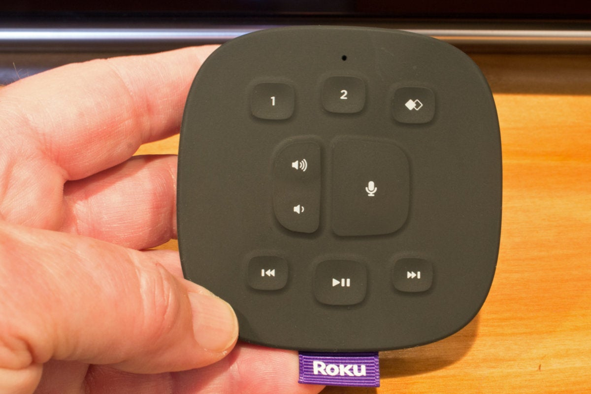 roku wireless speaker tabletop remote