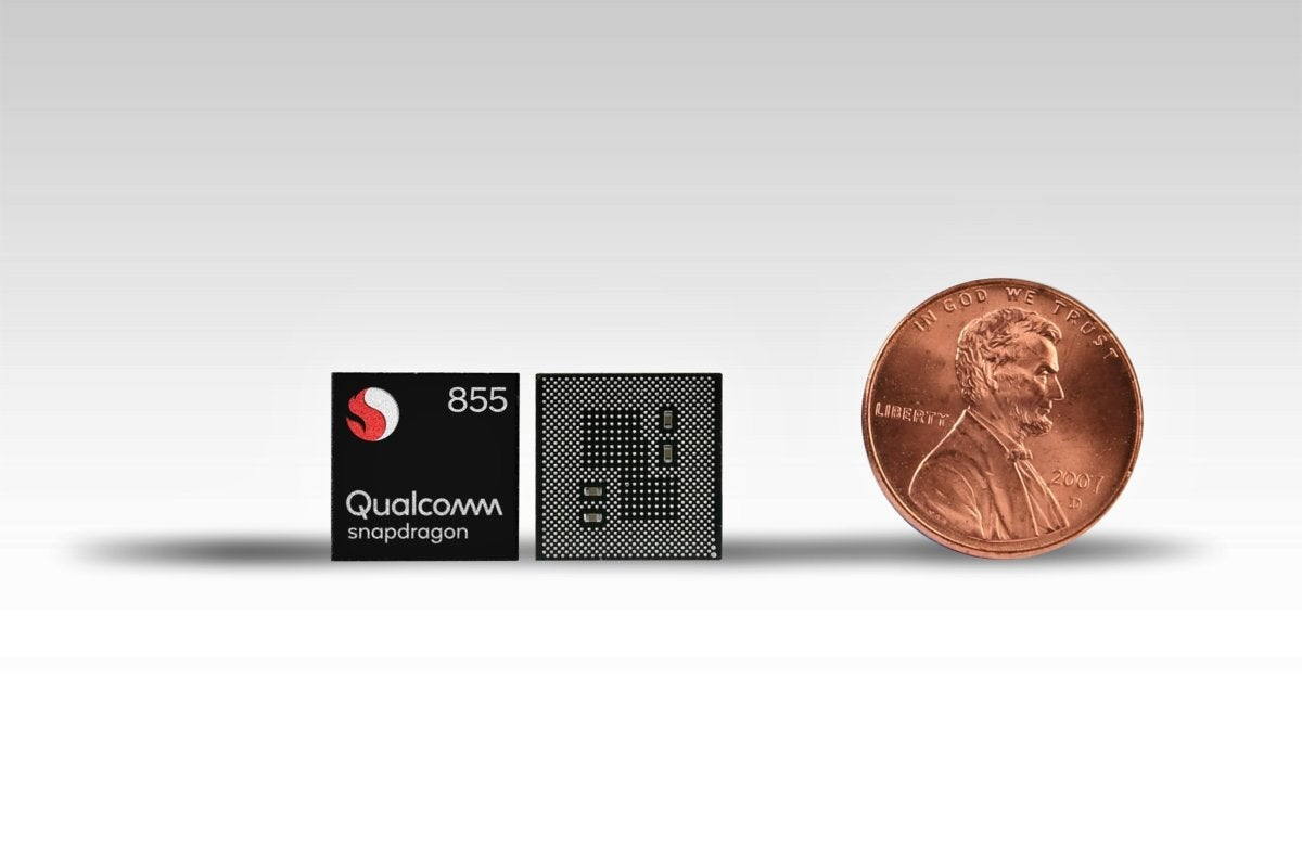 snapdragon 855 mobile platform chip compaison us coin 2