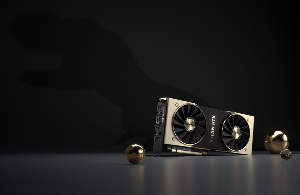Meet T-Rex: Nvidia's Titan RTX is the new graphics card mega