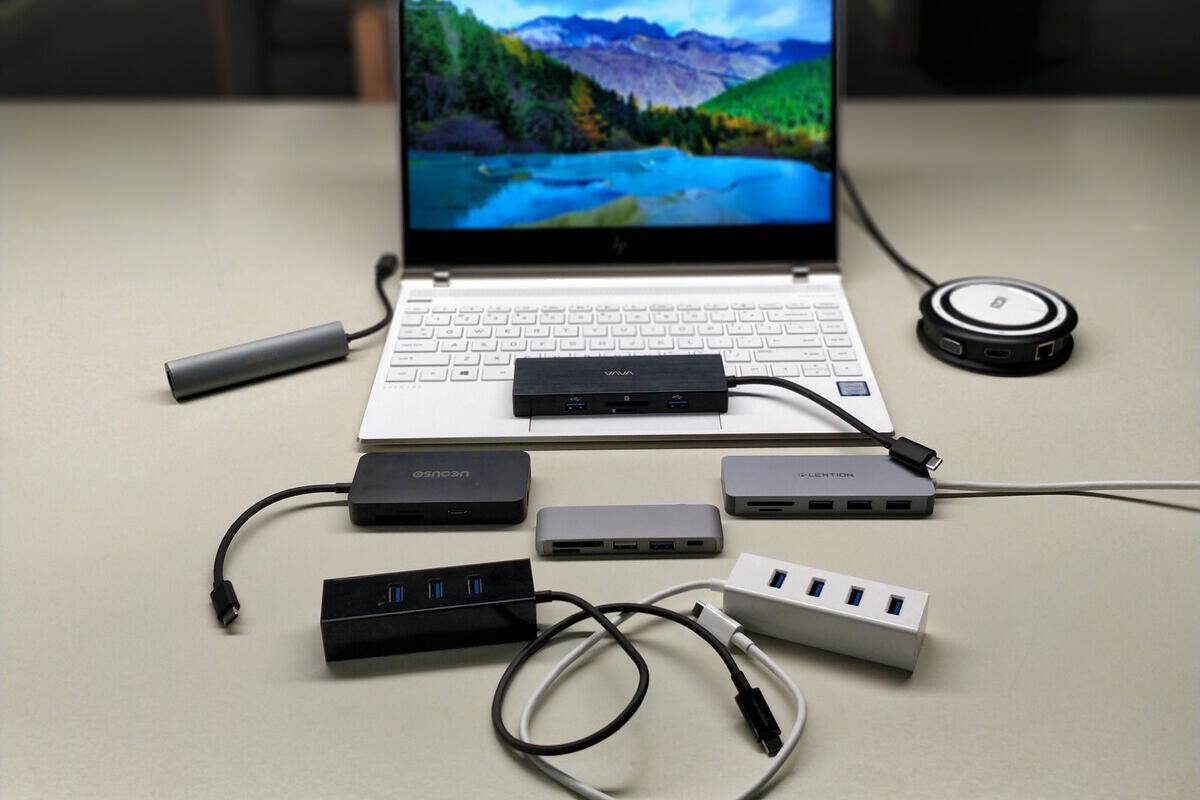4 Port USB Hub Sharing Switch For Logitech Microsoft Lenovo mouse keyboard