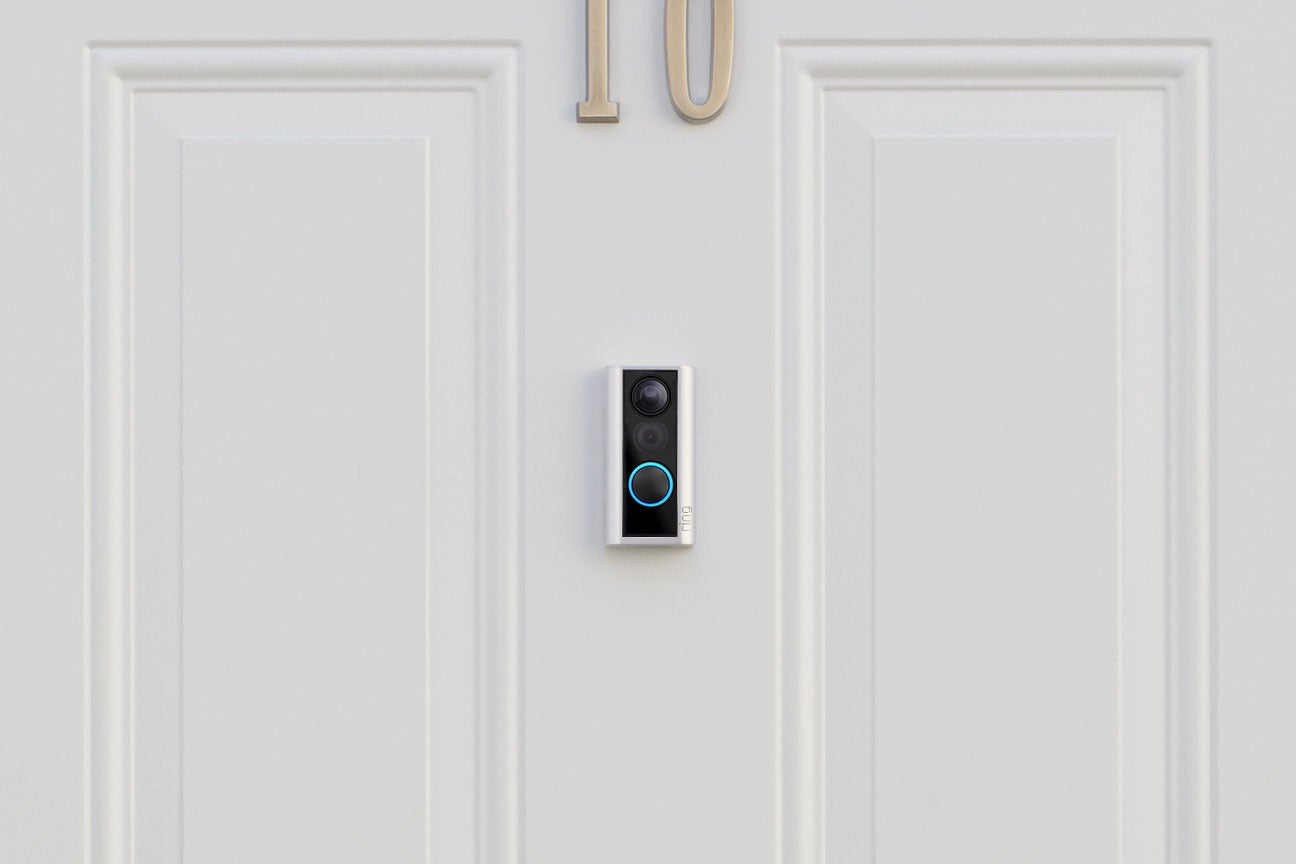 Ring Finally Has A Doorbell Cam For Renters And Apartment Dwellers