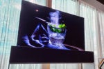 LG's rollable OLED TV hides away when you don't need it