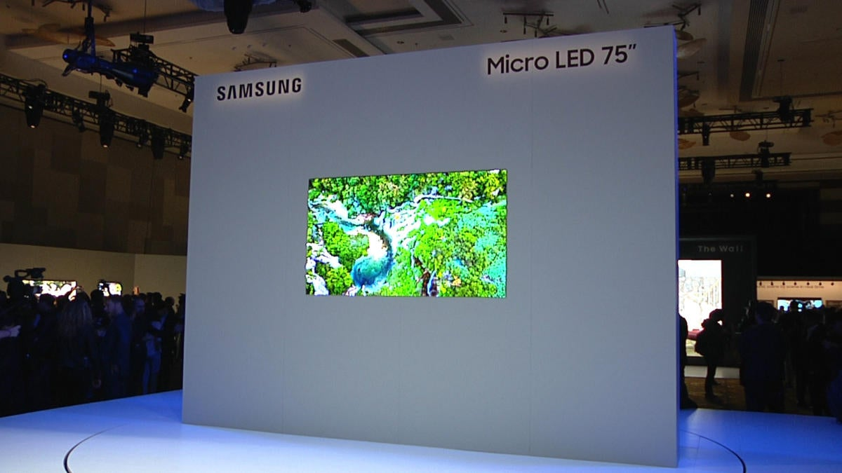 Samsung is showing a 219-inch version of its