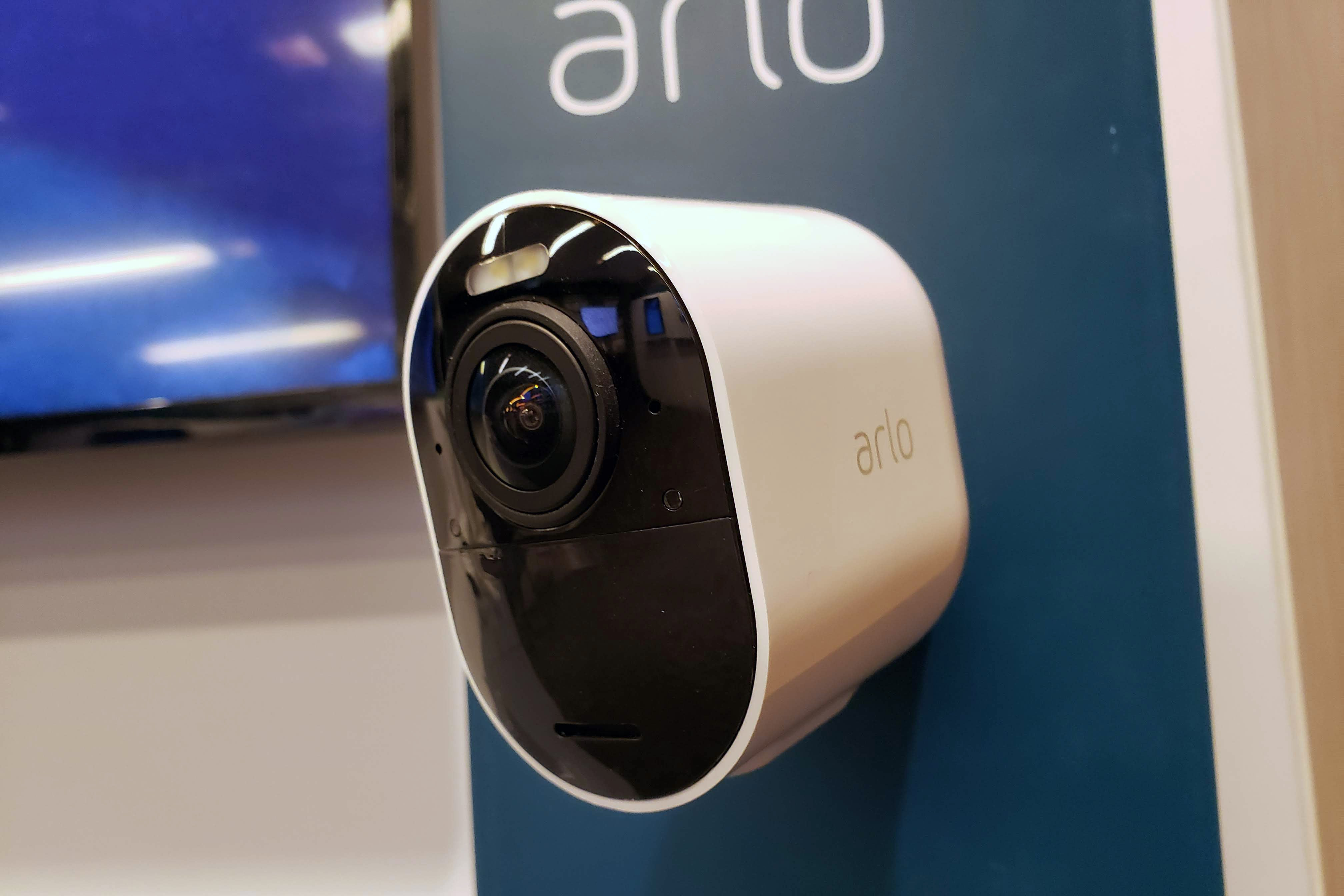 Arlo unveils its Ultra 4K smart-home security camera | IDG