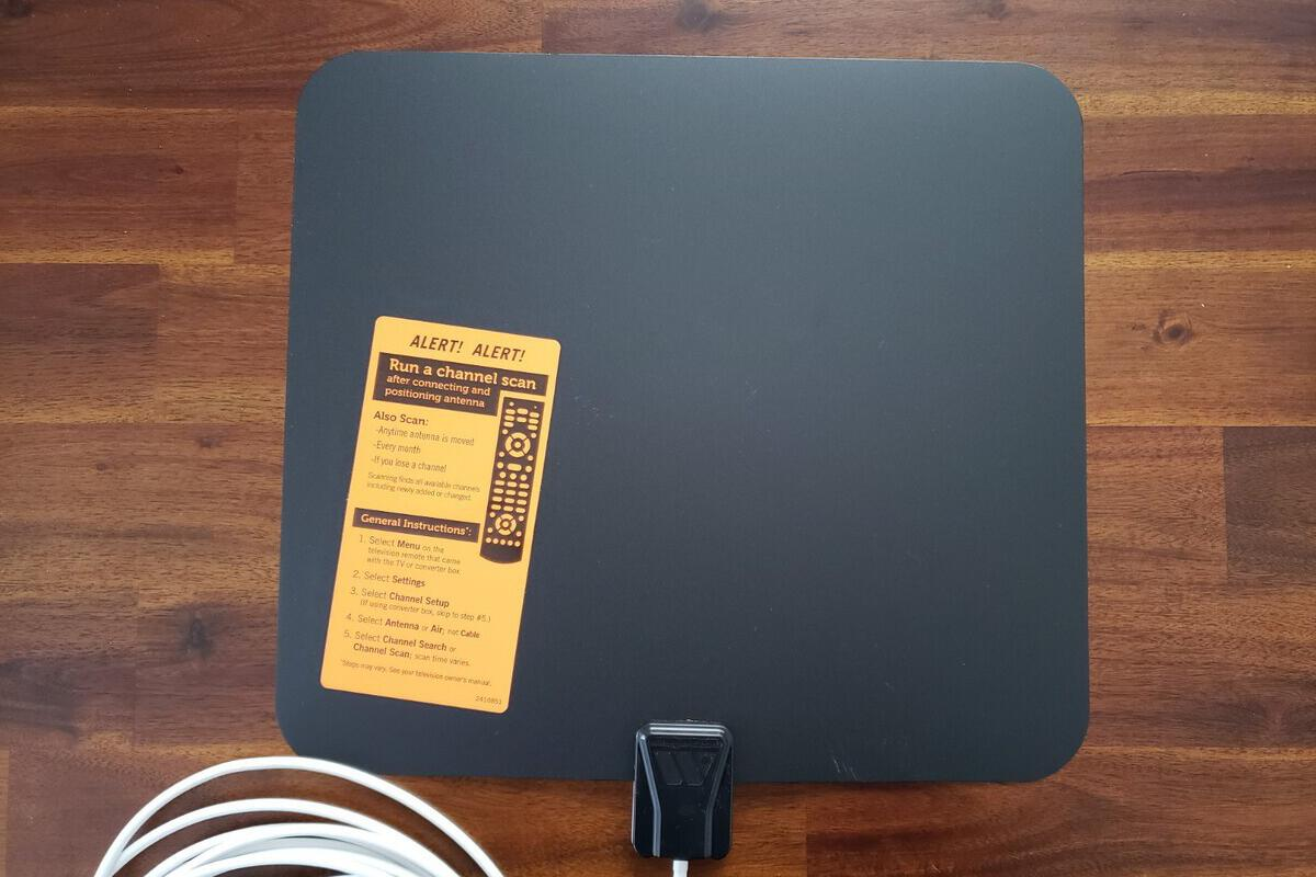 Winegard FlatWave Amped TV antenna review   TechHive